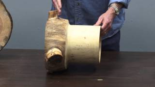 Woodturning: How to Cut Logs for Turning