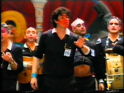 Chirigota - Los Bordes del Area \ Actuación Completa en la FINAL \ Carnaval 1996