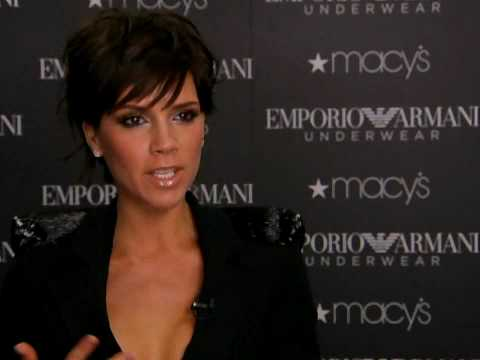 Victoria Beckham Armani Interview/Entrevista 6 May 2009