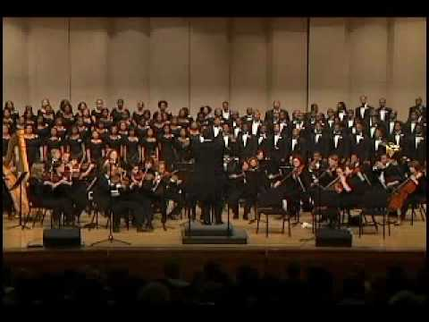 Morgan State University Choir-