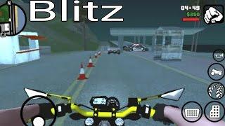 GTA SA ANDROID : MOTO VLOG | FUI PARADO NA BLITZ #3