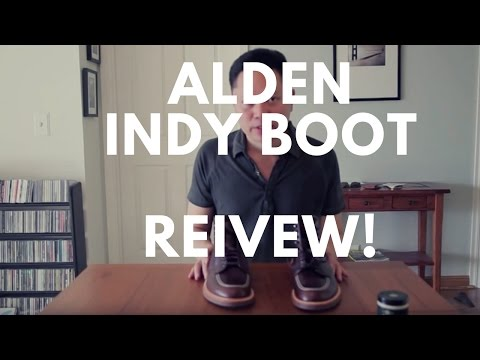 Alden 403 Indy boot review