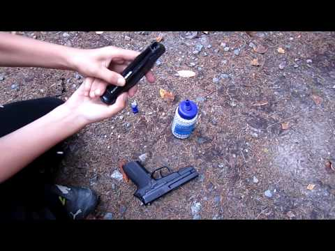 co2 sig sauer shooting test & review