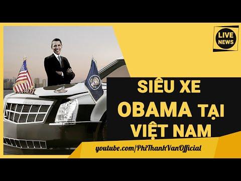Khám Phá Siêu Xe Hộ Tống Tổng Thống Mỹ OBAMA Sang Việt Nam - Tin Mới Nhất