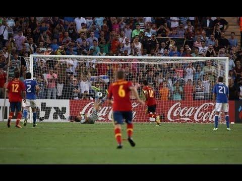 Thiago Alcántara vs Italy U21 HD 720p (European Championship U21 FINAL) [Cropped]