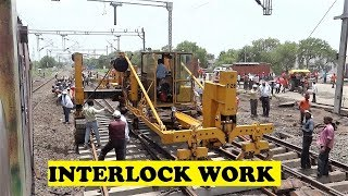 WAP7 DEE Duronto Interlocking Work Itarsi Junction