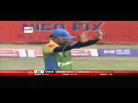 Ccl4 Semi Final 1 Kerala Strikers Vs Bhojpuri Dabanggs 1st Inn Match In Hyderabad - Part4 video