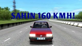 City Car Driving |1.4.1| Tofaş Şahin (0-160)Son Hız(Top Speed)