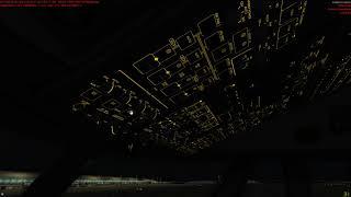 Prepar3d v4 PMDG 747-8 Landing Osaka