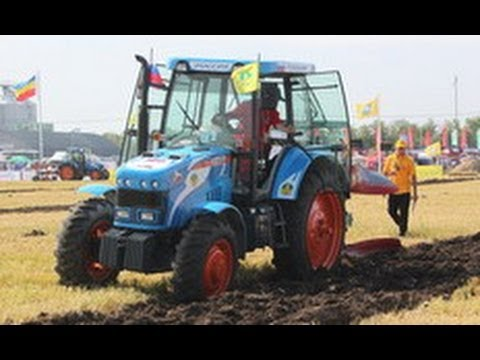 Чемпионат России по пахоте в Суздале