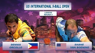 Dennis Orcollo - Shane Van Boening | US International 9-Ball Open 2018