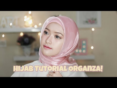Membantu banget ini hijab tutorial organza dari Saritiw...