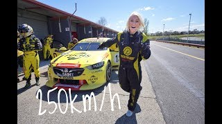 We Hit the Curb at 250km/h!!