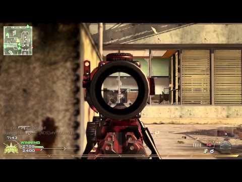Intervention ACOG + .44 Magnum Gameplay | Sniper Skillz - Modern Warfare 2