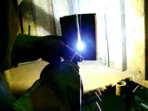 Open root pass weld 1/8 6010