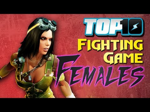 10 Fighting Game Females