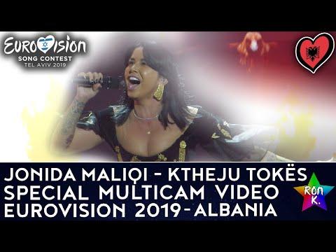 "Jonida Maliqi - ""Ktheju Tokës"" - Special Multicam video - Eurovision 2019 (Albania)"