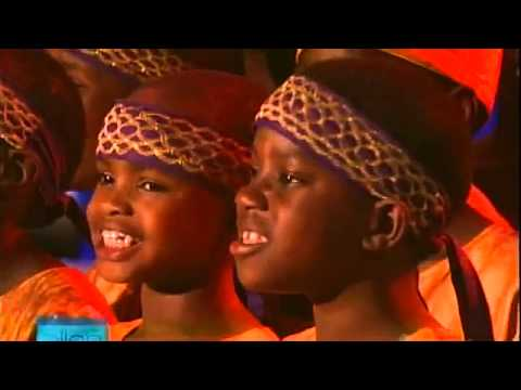 Josh Groban and the African Children' s Choir