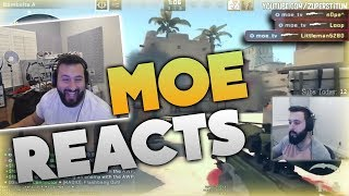 Moe Reacts To How Moe Actually Plays CSGO
