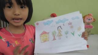 Good Baby Drawing  a Colorful Picture - Fun Kids Media