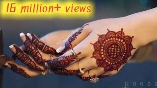 Simple Mehndi Designs for Hands - Gol Tikki Mehendi Design Tutorial 2020- Arabic Mehndi Back Hand ,