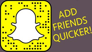 ADD FRIENDS QUICKER ON SNAPCHAT - DIY SNAPCHAT CODE CASE