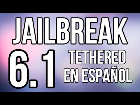 Jailbreak 6.1 Tethered Para iPod Touch 4g iPhone 4 & iPhone 3Gs En Espa�ol