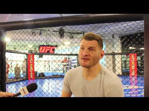 TUF 27 Media Day: Stipe Miocic Scrum