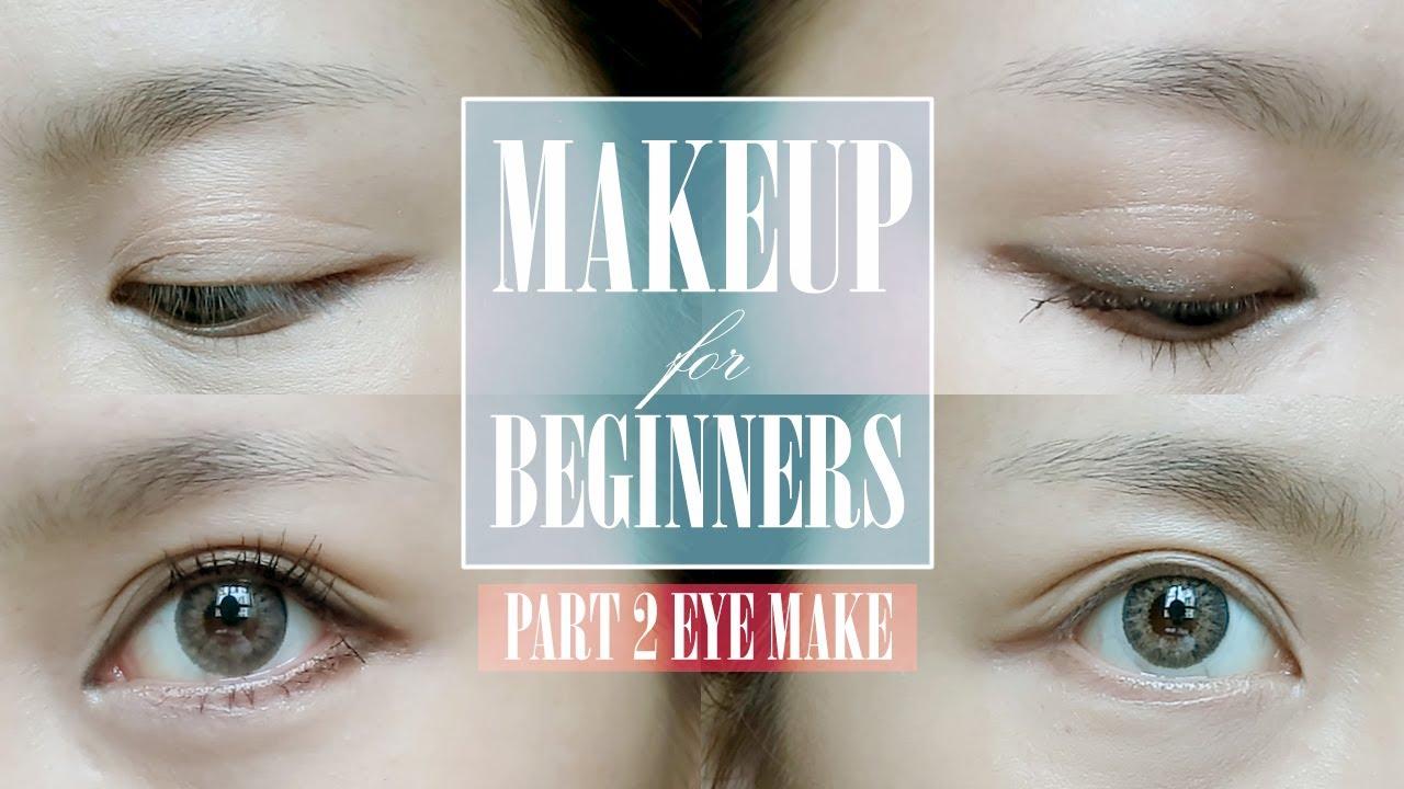 How to apply eyeliner, eyeshadow u0026 mascara (for beginners ...