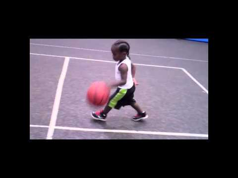 ONE OF THE BEST 3 YEAR OLD BASKETBALL PHENOM