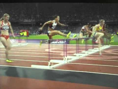 Sally Pearson: Start and Hurdle Clearance
