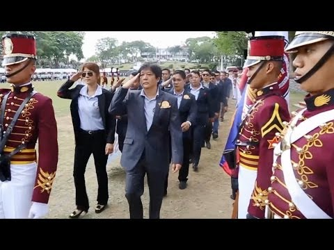 Sen. Bongbong Marcos - Adopted Honorary Member of PNPA 15-Mar-2014