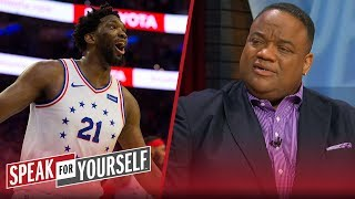 Joel Embiid is turning himself into a joke during NBA Playoffs — Whitlock | NBA | SPEAK FOR YOURSELF