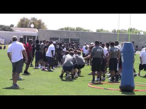 "NFTC Dallas OL/DL ""Tug of War"" - Jonathan Huckins' Team"
