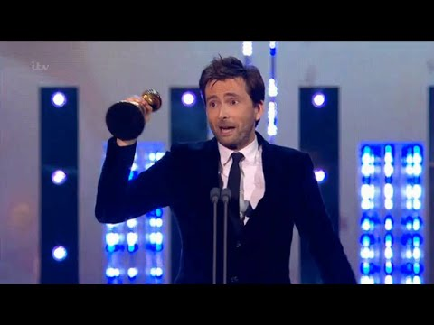 David Tennant Wins Special Recognition National Television Awards 2015