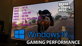 GTA 5 PC : Windows 10 Gaming Performance vs Windows 7 Benchmark | i7 4790k GTX 980