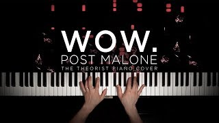 Post Malone - Wow. | The Theorist Piano Cover