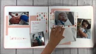 Creative Memories Fast2Fab Baby Album