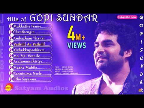 Top Hits of Gopi Sundar | Malayalam Film Songs