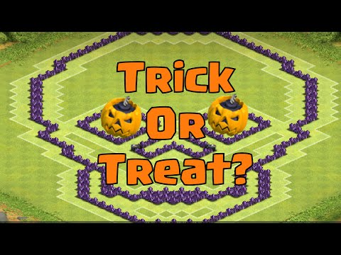 Clash of Clans Townhall 8 Farming Base 4 Mortars | (New Halloween Update Contest)