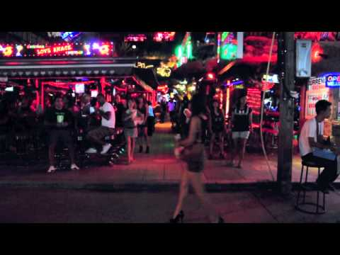 500 days and one night in phuket (Bangla Road) Patong Beach