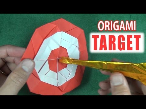 Origami Target by Jeremy Shafer
