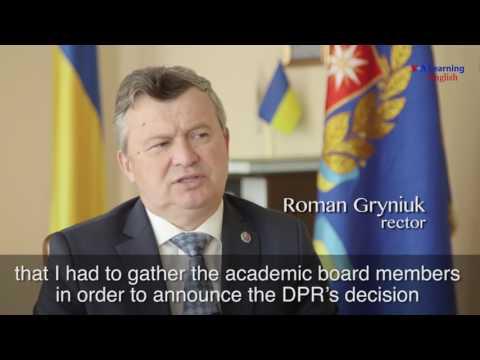 Conflict in Ukraine Divides University