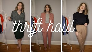 STYLING MY THRIFT HAUL + SPRING STYLE INSPO