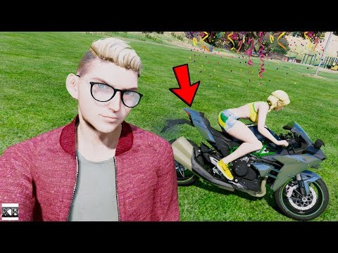 GTA 5 YOUNGSTERS REAL LIFE MOD #3 😍