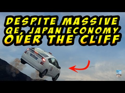 Japan Stock Market and Economy Disaster as Printing Trillions FAILS to Keep Alive!