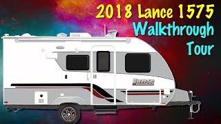 2018 Lance 1575 Travel Trailer Walkthrough with Princess Craft RV