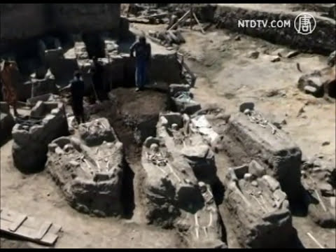 Esqueletos de 'Vampiros', Descobertos na Bulgária