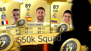 Fifa 17 550k Hybird Squad is it Any good ? With Packs/ Making 2 the top #12