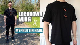 MYPROTEIN CLOTHING TRY ON HAUL | LOCKDOWN VLOG 1